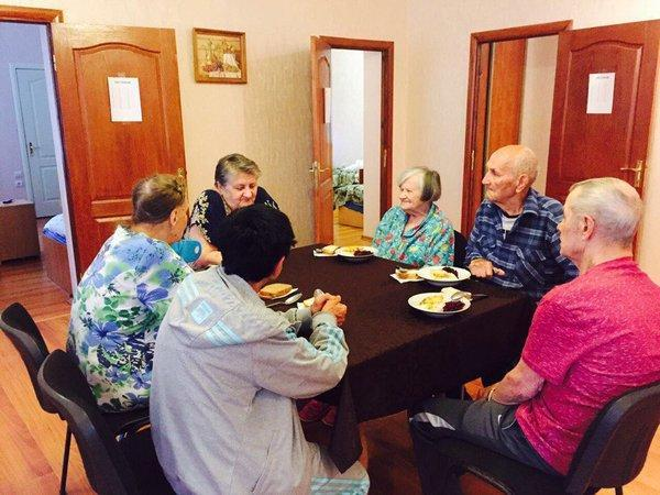 Дом престарелых в Чернигове
