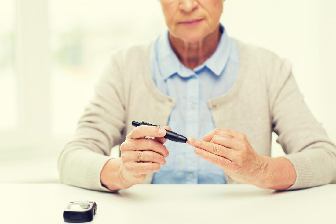 Сахар в крови у пожилых людей