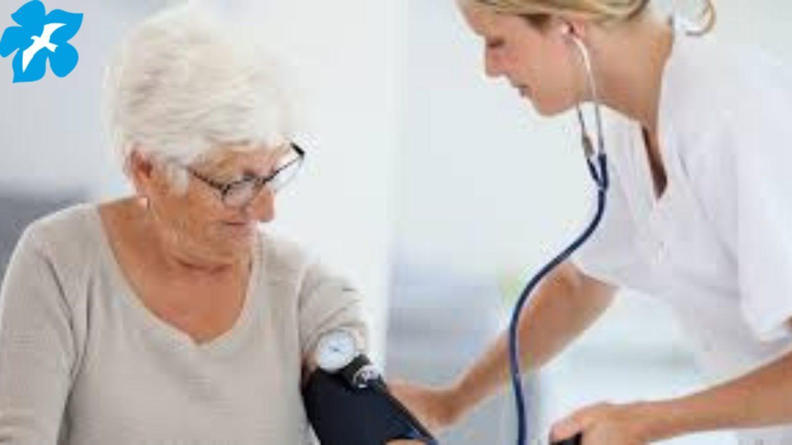 Уход за пожилыми с артериальным давлением
